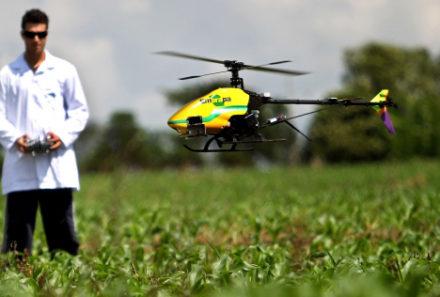 Saiba tudo sobre os drones aplicados na agricultura de precisão