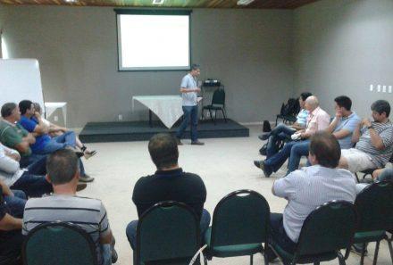 Palestra sobre AP para produtores rurais em Lagoa Vermelha/RS