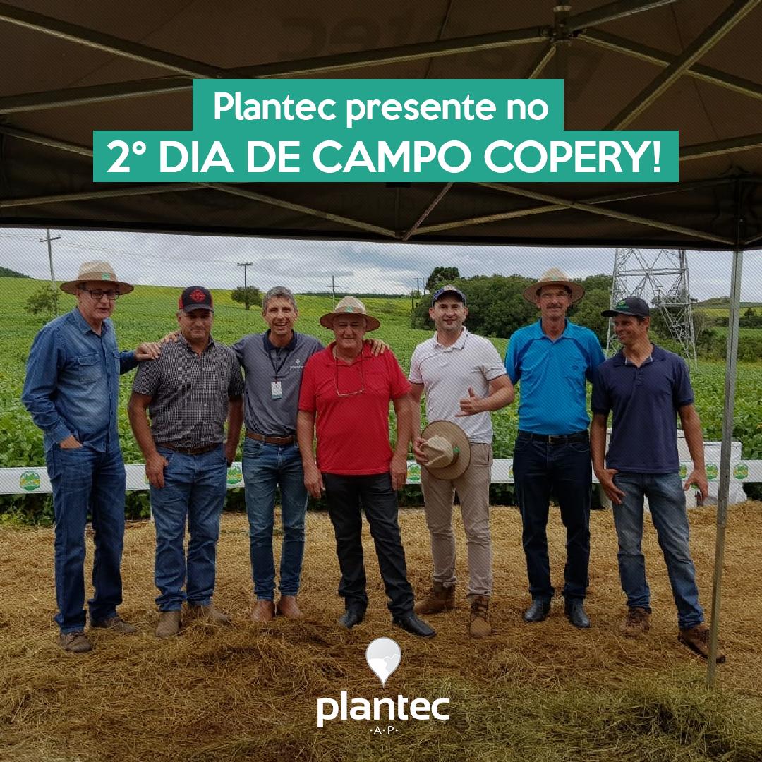 Plantec Presente no Segundo Dia de Campo da Copery