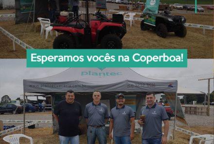 Plantec está participando do 5° Dia de Campo Coperboa