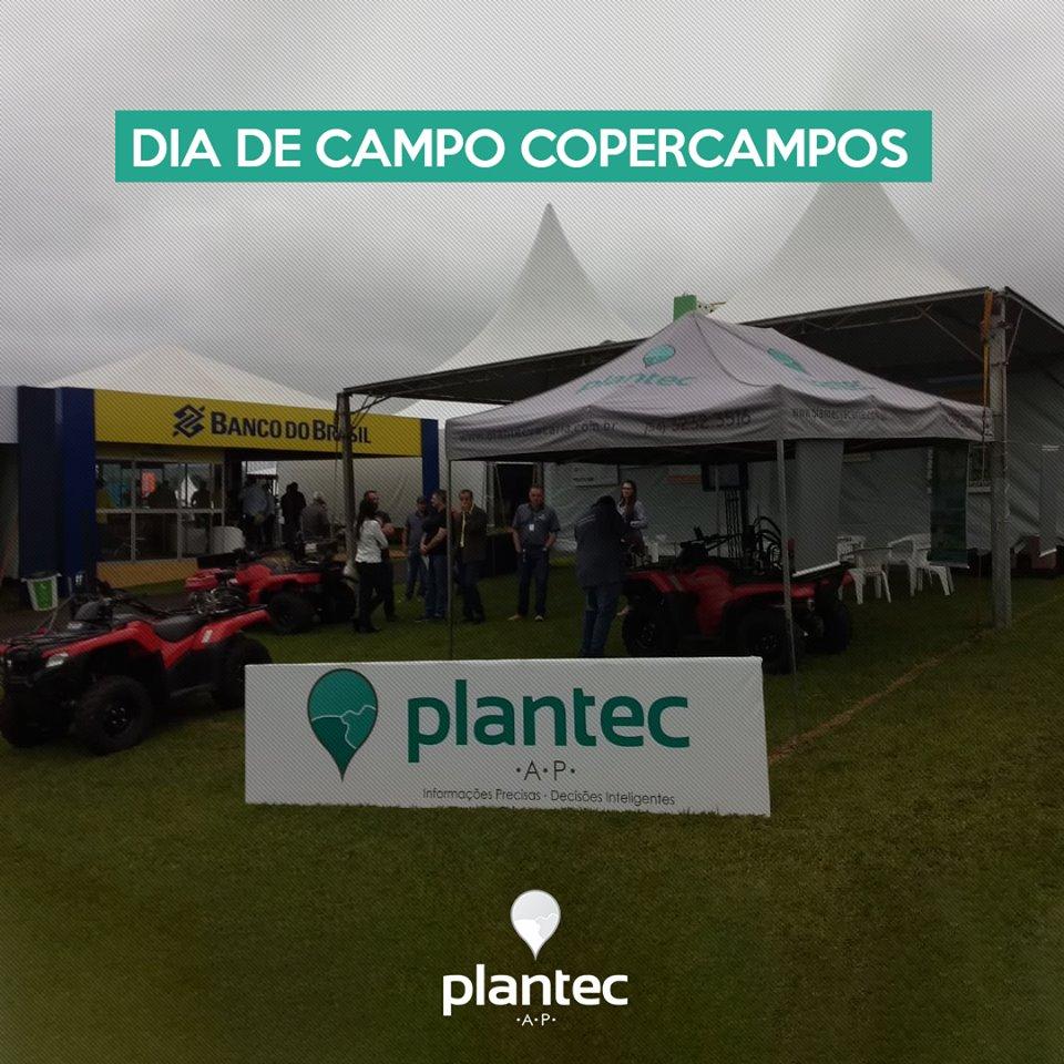 Plantec participa do Dia de Campo da Copercampos